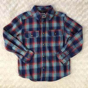 Carter's Plaid Flannel Shirt Size 6